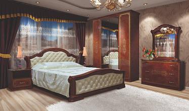 Спальня НОВА ВЕНЕЦІЯ 4Д піно горіх (Світ Меблів)