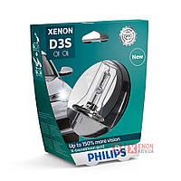 Ксеноновая лампа PHILIPS 42403XV2S1 D3S X-treme Vision gen2 +150% , фото 1