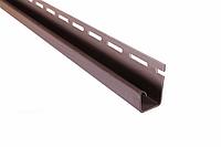 Планка Соффіт J коричнева Т-15, 3.66м