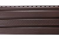 Панель Соффіт коричнева перфорована Т-20*, 3м