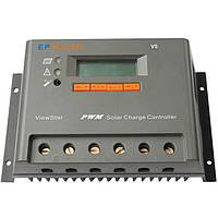 PV Контролер заряду для сонячних батарей VS3048N 30А 12/24/48V auto, фото 1