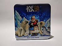 "JAF ""Here Comes Santa"", черный чай, 40 г крупный лист + 40 г средний лист, ж/б"