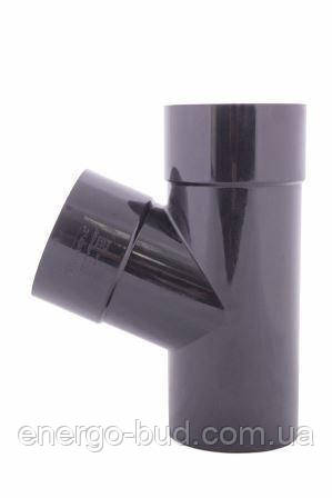 Трійник Profil 75/75/67 90 графітовий
