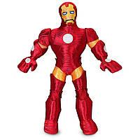 Мягкая детская игрушка мягкий супергерой Железный человек 38 см 1231041280910P