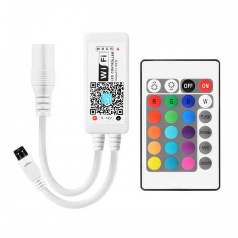 Контроллер RGBW 8А WIFI IR24 12V 96W, фото 2