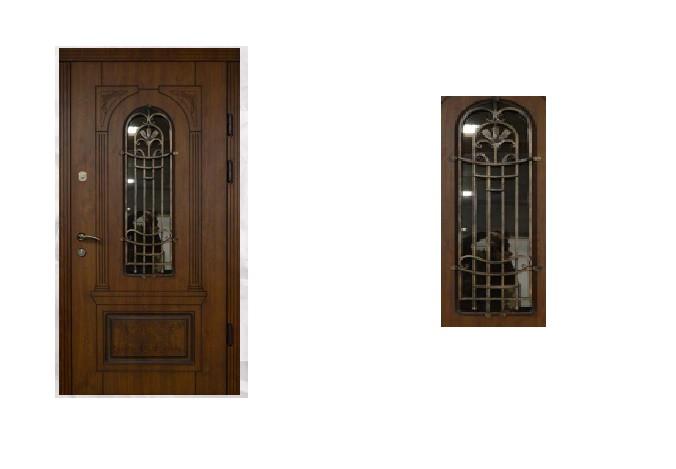Широкие двери входные Елит_2049