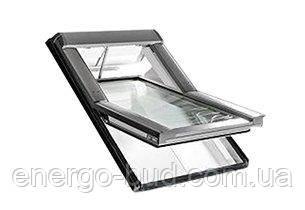 Вікно мансардне Designo WDT R45 K W AL 07/11 EF
