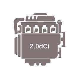 Двигун 2.0 dCi (M9R 780, 782, 784, 786, 788 / M9R 630, 692)