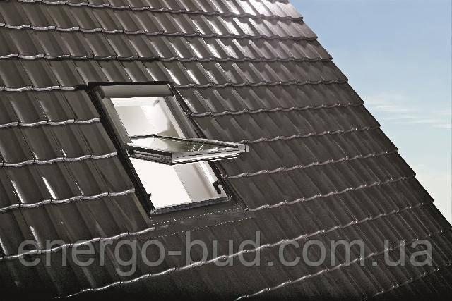 Вікно мансардне Designo WDT R45 K W WD AL 07/09 EF