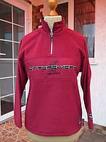 На рост (146/152см) Флисовый теплый свитер кофта на мальчика