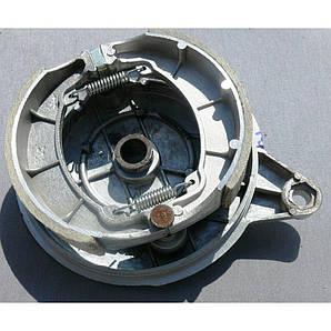 Крышка заднего тормозного барабана с колодками ACTIV  на 18 колесо