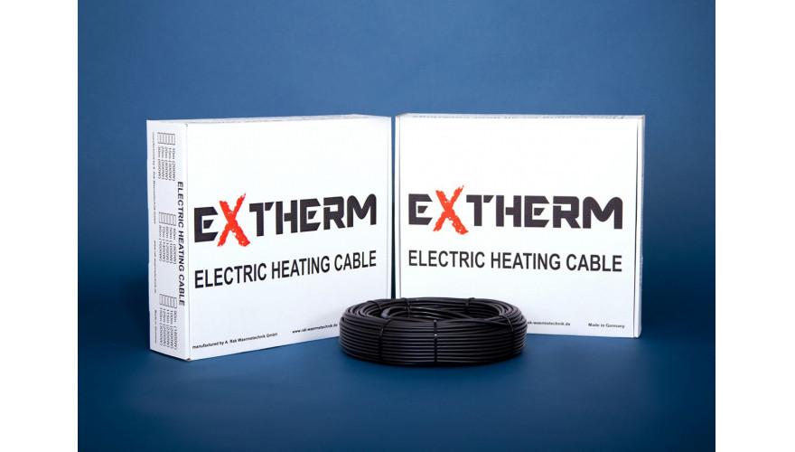 Нагревательный двухжильный кабель  EXTHERM ETC ECO 20-300  15.00 м. Мощность 300 Вт. Класс защиты IPX7