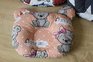 "Дитяча подушка для новонароджених ""Ведмедики"""