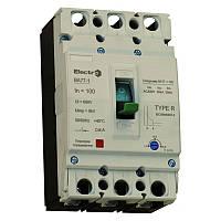 Выключатель автоматический промышленный с регулятором ВА77-1-125  3 П   100А   10In   Icu 25кА   380В, фото 1
