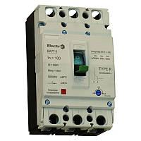 Выключатель автоматический промышленный с регулятором ВА77-1-125  3 П   125А   10In   Icu 25кА   380В, фото 1