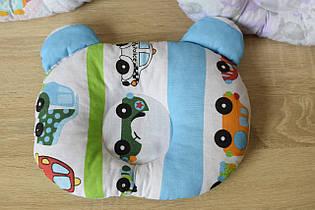"""Дитяча подушка для новонароджених """"Машинки"""""""