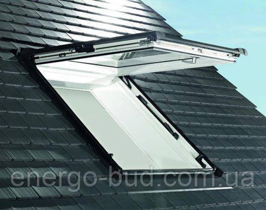 Вікно мансардне Designo WDF R85 K W WD AL 09/16