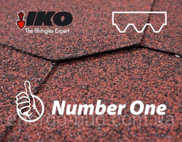 Бітумна черепиця Number One Hex (90) Red