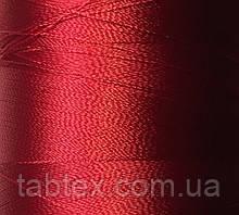 Нитка шелк для машинной вышивки embroidery 120den. №В-313(т.красный.)(МН) 3000 ярд