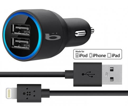 Автомобильное USB зарядное устройство PC552 для Iphone, фото 2
