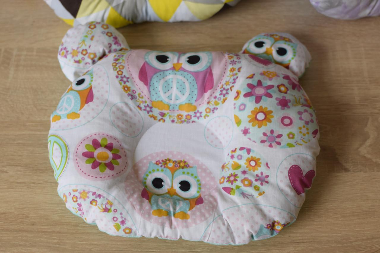 """Дитяча подушка для новонароджених """"Сови"""""""