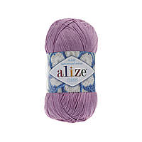 Пряжа Alize Miss 474 лиловый (Ализе Мисс) 100% хлопок