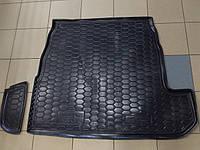 Коврик в багажник для Audi 80 B4 1991 - 1994 г., резинопластик Автогум.