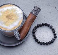 Мужской каменный браслет mod.Escobar, фото 1