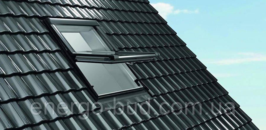Вікно мансардне Designo WDF R65 K w WD AL 11/11