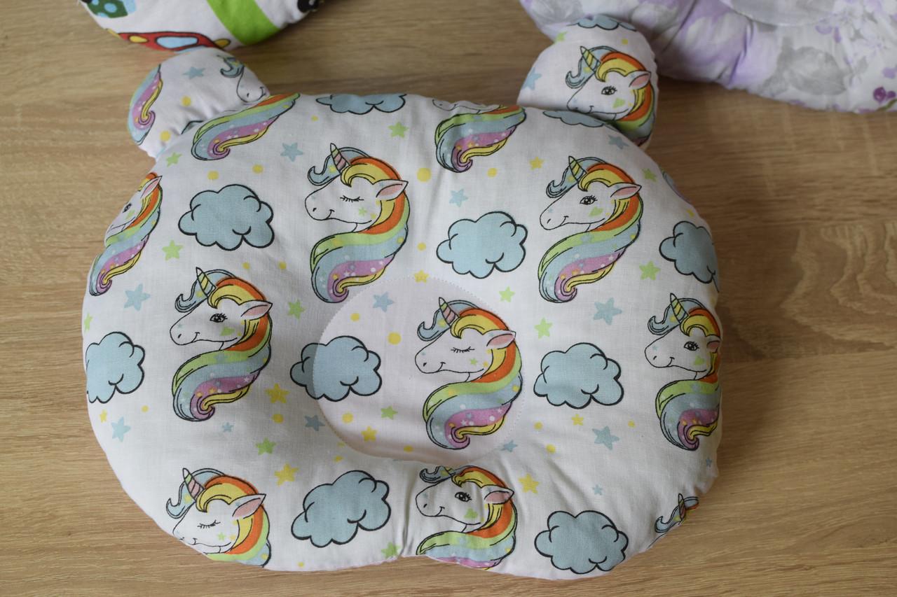 """Дитяча подушка для новонароджених """"Пегас"""""""