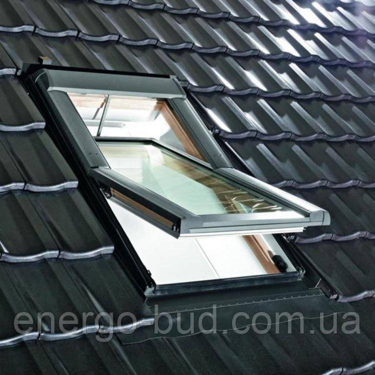 Вікно мансардне Designo WDT R65 H N WD AL 07/11 EF