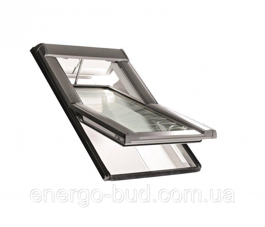 Вікно мансардне Designo WDT R65 K W WD AL 09/16 EF