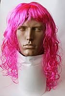 Парик карнавальный розовый, фото 1