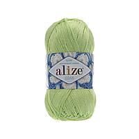 Пряжа Alize Miss 478 зеленая мята (Ализе Мисс) 100% хлопок
