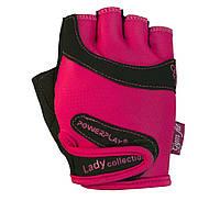 Рукавички для фітнесу PowerPlay 1729 Рожевий, фото 1