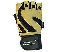Рукавички для залу PowerPlay 1064 B Жовті, фото 1
