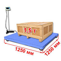 Весы платформенные 1250 х 1250 мм ВТП-С-1500, фото 1