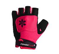 Велорукавички PowerPlay 5284 C Рожевий, фото 1