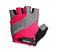Велорукавички PowerPlay 5023 Рожевий, фото 1