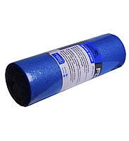 Йога ролер PowerPlay 4021 (45*15 см.) Блакитний
