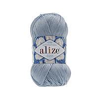 Пряжа Alize Miss 480 светло-голубой (Ализе Мисс) 100% хлопок