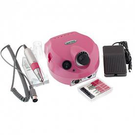 Фрезер для маникюра и педикюра Nail Drill DM-202 на 25000 оборотов 30 ВТ Розовый
