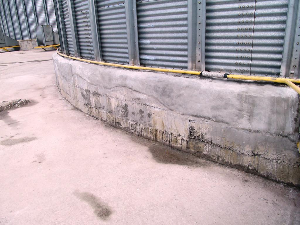 Восстановление и ремонт бетона фундаментов силосов