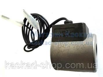 Электромагнитная катушка Haco 24V Ø18x40 мм с проводами (E0242.H), фото 2