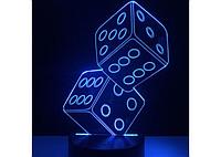 3D светильник  Кости (kosti)