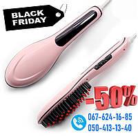 Электрическая расческа-выпрямитель Fast Hair Straightener HQT906 Фаст Хеир