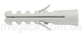 Дюбель универсальный распорный (ус) 12х60 нейлон, упаковка 25шт.
