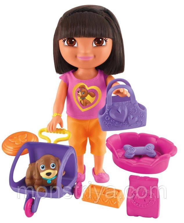 """Игровой набор """"Кукла Даша с любимым щенком Перрито и аксессуарами"""""""