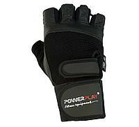 Рукавички для залу PowerPlay 1073 Чорний XL