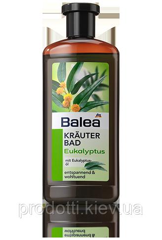 Немецкая натуральная пена для ванны Balea Эвкалипт